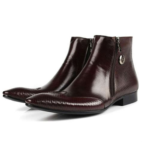 Men's Pointed-Toe Dress Boot