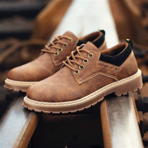 Men's Prestige Leather Work Oxfords