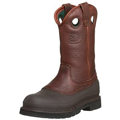 Men's Pull-On Mud Dog ST Comfort Core Work Boot