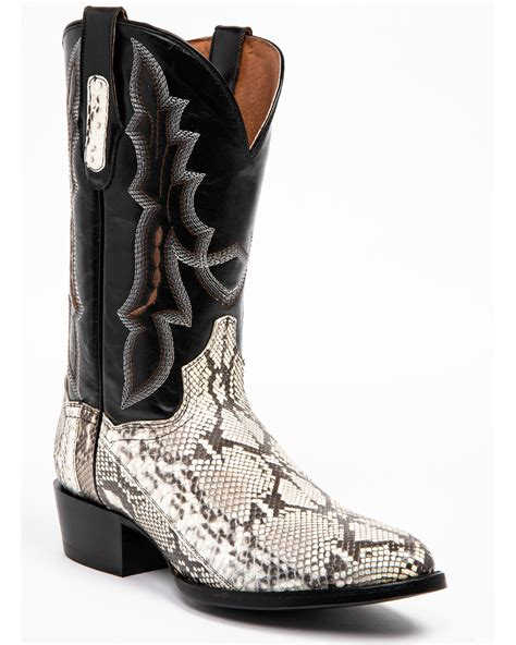 Men's Python R Toe Western Boot