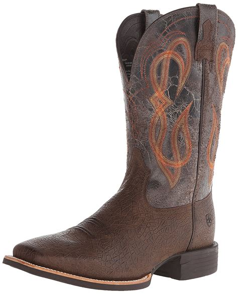 Men's Quantum Brander Western Cowboy Boot, Cowboy Coffee, 9.5 2E US