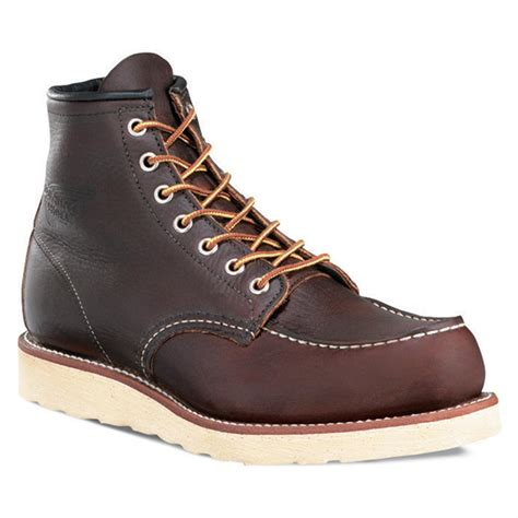 Men's Red Rim Work Boot