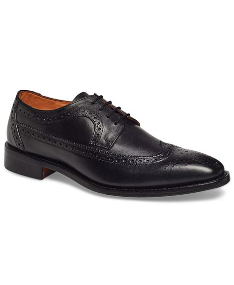 Men's Regan Wingtip Oxford Full Grain Leather Shoes Goodyear Welt