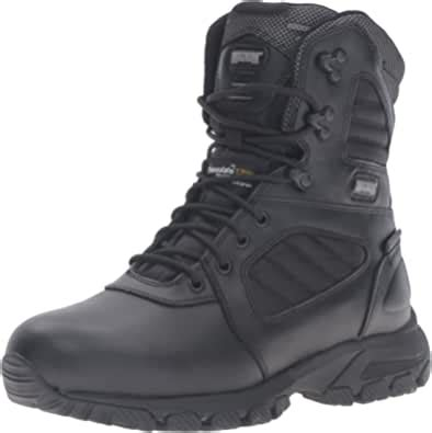 Men's Response III 8' Size Zip Waterproof Insulated Military and Tactical Boot