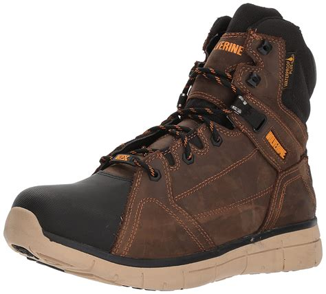 Men's Rigger WPF Soft-Toe Mid Wedge Construction Boot