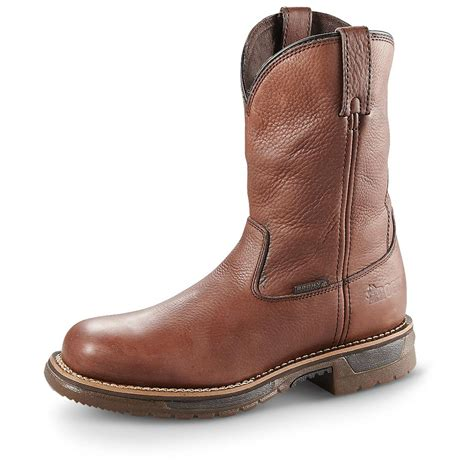"Men's Rodeo 10"" Composite-Toe Work Boot"