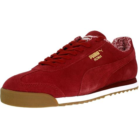 Men's Roma Suede Fashion Sneaker