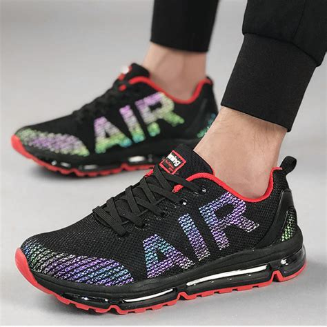 Men's Running Shoes,Air Cushion Breathable Sneakers