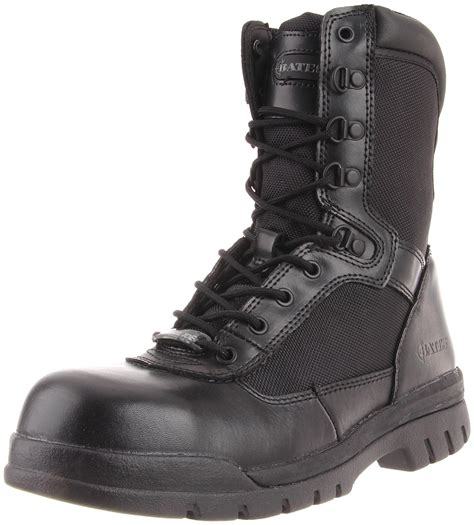 Men's Safety Enforcer 8 Inch L N Steel Toe Uniform Work Oxford