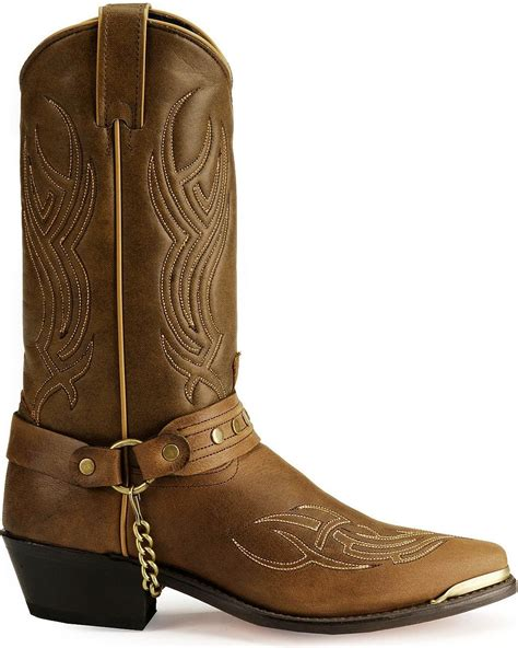 Men's Sage by Studded Harness Boot - 3012