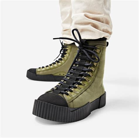 Men's Scuba Hi Top Fashion Sneaker