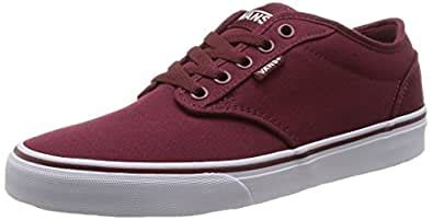 Men's Shoes Atwood Canvas Windsor Wine/White Skate Sneakers