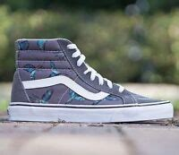Men's Sk8-Hi Neutral Gray/Black/Cockatoo Skateboarding Shoe US 10.5