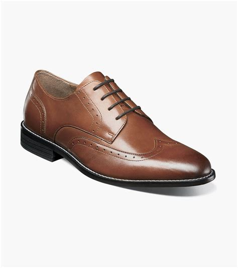 Men's Slate Wing Tip Oxford