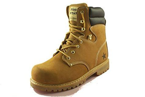 Men's Slip and Oil Resistant Shoes ST Non Slip Work Safety Steel Toe Boot