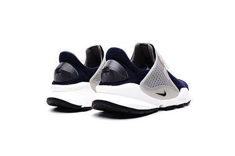 Men's Sock Dart KJCRD, BINARY BLUE/BLACK-DARK GREY