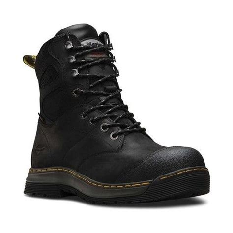 Men's Spate EH ST 8 Eye Leather, Rubber Work Boots