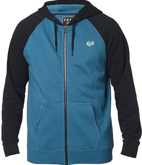 Men's Standard Fit Legacy Logo Zip Hooded Sweatshirt
