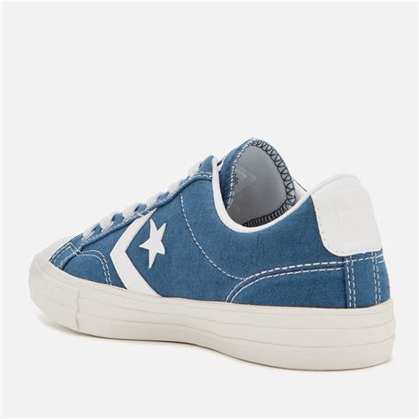 Men's Star Player Ox Trainers, Blue