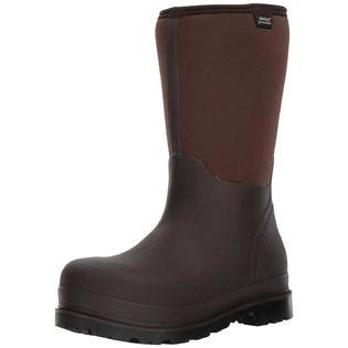 Men's Stockman Seamless Waterproof Insulated Composite Toe Work Rain Boots