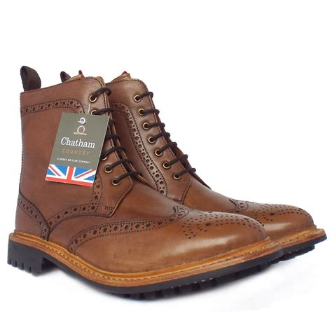 Men's Storm Brouge High Boot