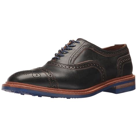 Men's Strandmok Cap Toe with Perfing Detail Oxford
