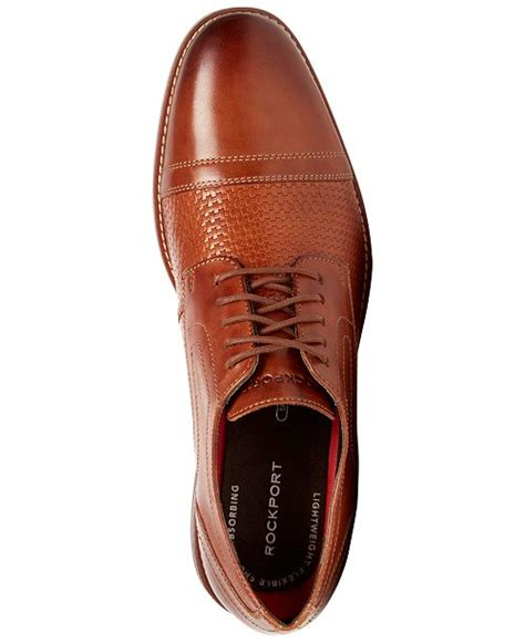 Men's Style Purpose Woven Cap Toe Oxford