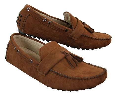 Men's Suede Mirvin Loafers Navy