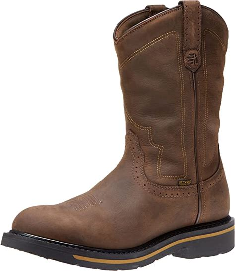 Men's Tallgrass Western Toe 11 Inch Work Boot