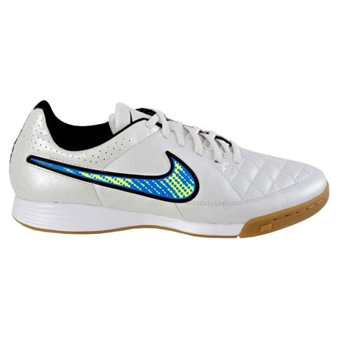 Men's Tiempo Genio Leather (IC) Indoor-Competition Soccer Shoe