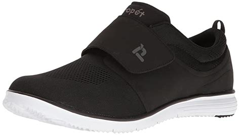 Men's TravelFit Strap Walking Shoe, Black, 8 5E US
