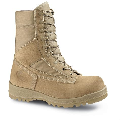 Men's USMC DuraShocks Hot Weather Military and Tactical Boot