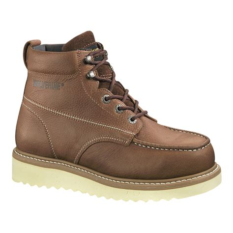 Men's W08289 Wolverine steel toed Boot