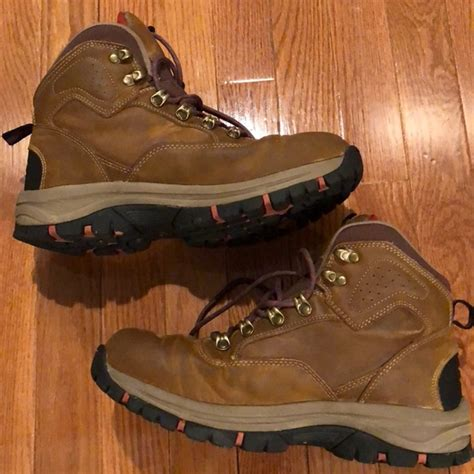 Men's Waterproof Leather Hiking Boots - Brandon Brown