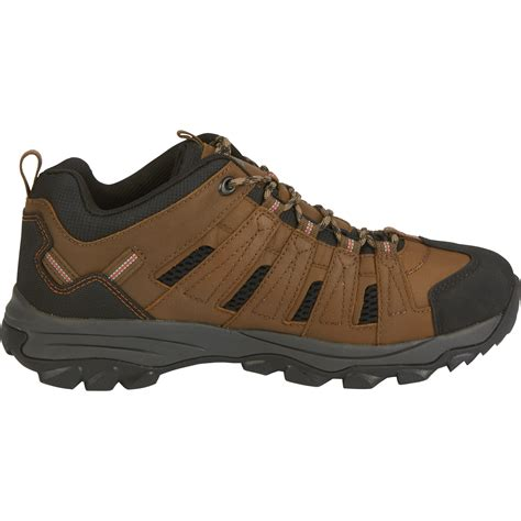 Men's Waterproof Low Oxford Hiker Boots - Brown, Size 10 1/2
