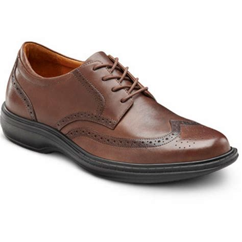 Men's Wing Chestnut Diabetic Dress Shoes