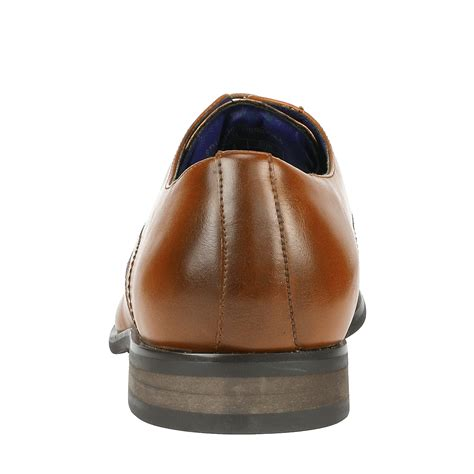 Men's Wingtip Cap Toe Lace up Oxfords Slip On Loafers Brogue Flats Dress Shoes