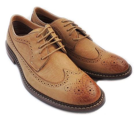 Men's Wingtip Casual Leather Oxford Sneaker Shoes