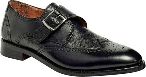 Men's Wingtip Monk Strap Goodyear Welted Leather Shoes Roosevelt III' by