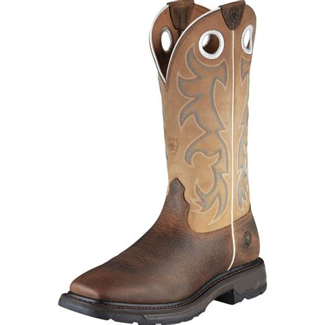 Men's Workhog Wide Square Toe Tall Boot