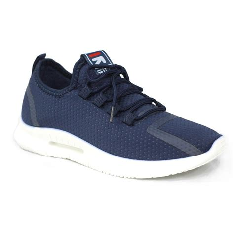 Men's XXM70A0W900LL83EJS Blue Fabric Sneakers