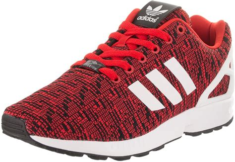 Men's ZX Flux Graphic Red/Core Black/Footwear White 11 D US
