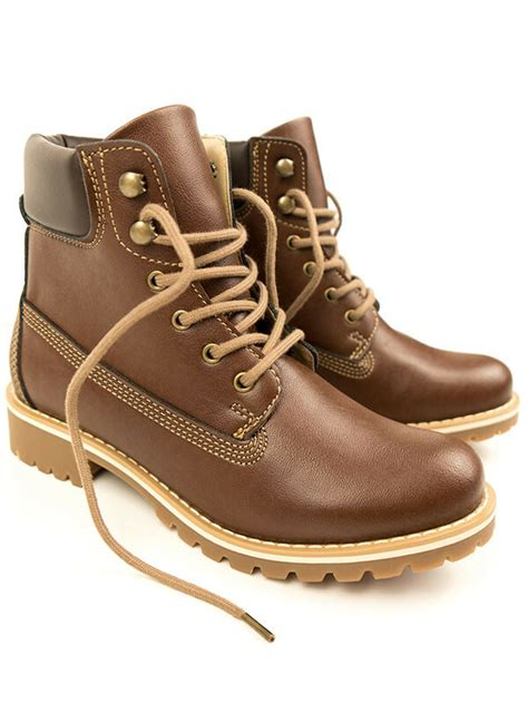 Men's dock boots chestnut