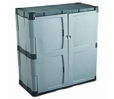Best Menards rubbermaid storage cabinets