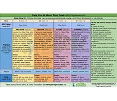 Best Meniu dieta disociata pe zile
