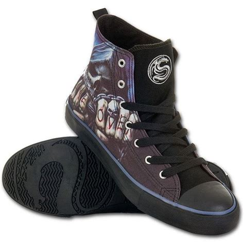Mens - Game Over - Sneakers - Men's High Top Laceup