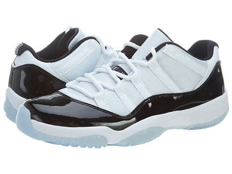 Mens Air Jordan 11 Retro Low Concord Synthetic Basketball Shoes