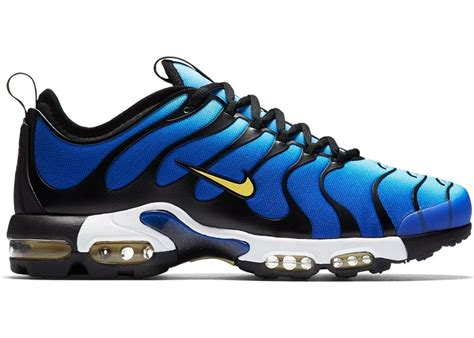 Mens Air Max Plus Ultra Sneakers New, Hyper Blue/Black 898015-402