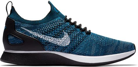 Mens Air Zoom Mariah Flyknit Racer, Green Abyss/Black-Cirrus Blue, 11 M US