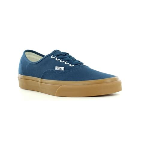 Mens Authentic Reflecting Pond/Gum Skateboarding Sneakers VN0A38EMQ6O